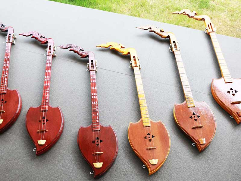 Thai-musical-instruments
